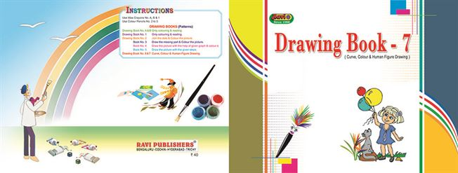 7th std drawing book - Drawing Book Pictures